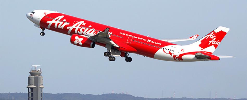 AirAsia X  полетит на Дальний Восток и в Сибирь
