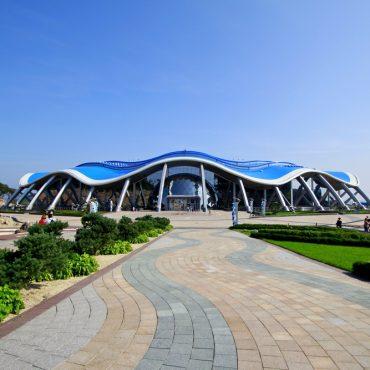 Приморский океанариум о. Русский для организованных групп учащихся