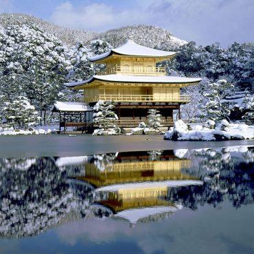 Япония с Востока на Запад (зима)
