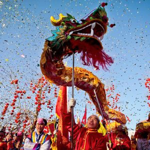 CHINA LUNAR NEW YEAR OF THE DRAGON