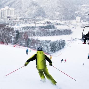 Отмечаем новый год на курорте Yongpyeong и High