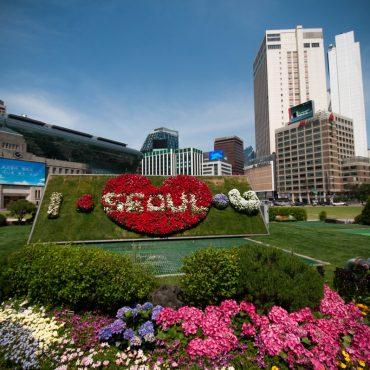 Майские праздники в Сеуле (паром)