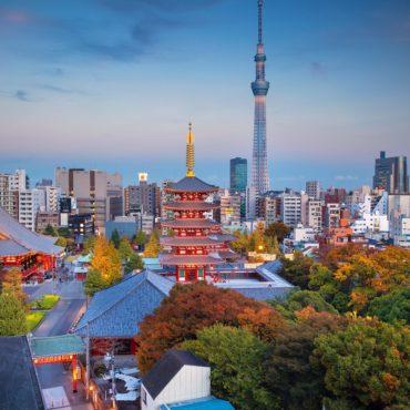 Токио: вчера и сегодня (осень 2019)